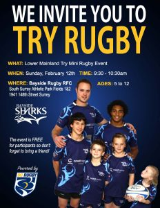 Try Rugby Bayside - Feb12