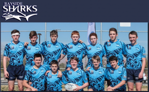 Hamish Ross Realty sponsored Bayside 7-a-side U16's Boys Vegas Tour, 2015.